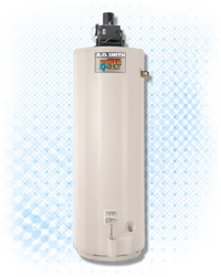New Ao Smith Power Shot Power Vent Gas Water Heater