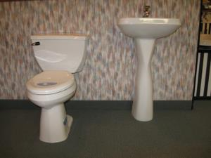 Gerber Toilets and Pedestal Sinks